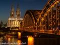 Kölnerdom zur blauen Stunde