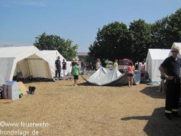 Jubiläumszeltlager vom 27.07. bis 03.08.2013 in Hondelage