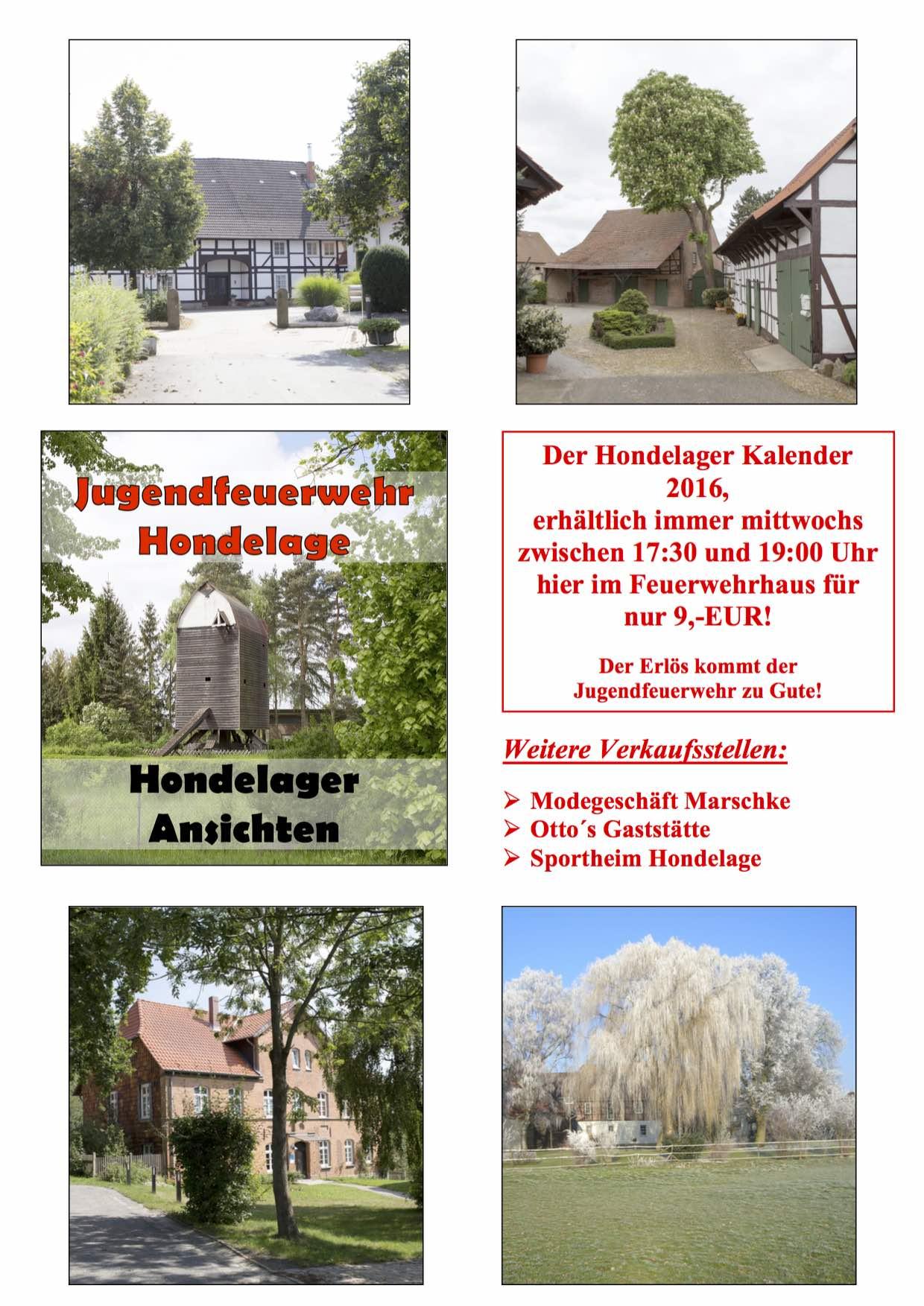 Werbung Kalender Fw-Haus