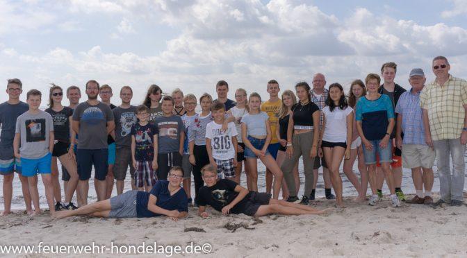 Zeltlager der Jugendfeuerwehr in Neustadt in Holstein