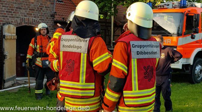 Übungsdienst mit der OF Dibbesdorf