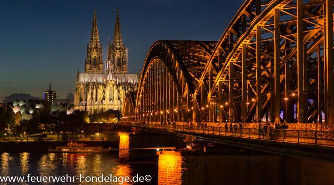 Gruppenfahrt der ersten Gruppe nach Köln