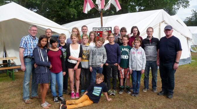Zeltlager vom 25.07. – 01.08.2015 in Stadtoldendorf